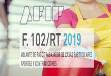 formulario 102rt afip