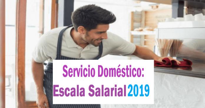 escala salarial domesticos