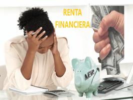 deduccion especial renta financiera